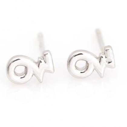 Capricorn Earrings Zodiac Stud Deli..